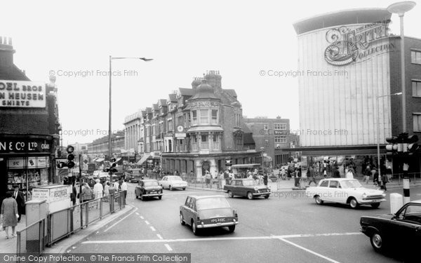 Photo of Ilford, Cranbrook Road c.1965