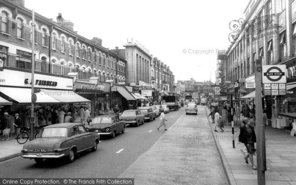 Photo of Ilford, Cranbrook Road c.1965