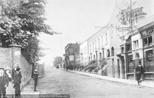 Photo of Ilford, Hainault Street c.1890
