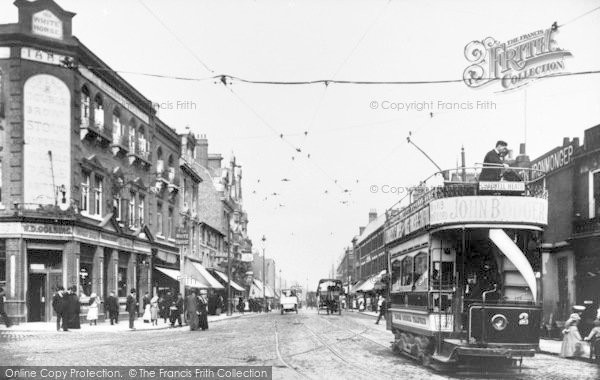 Photo of Ilford, High Road 1905