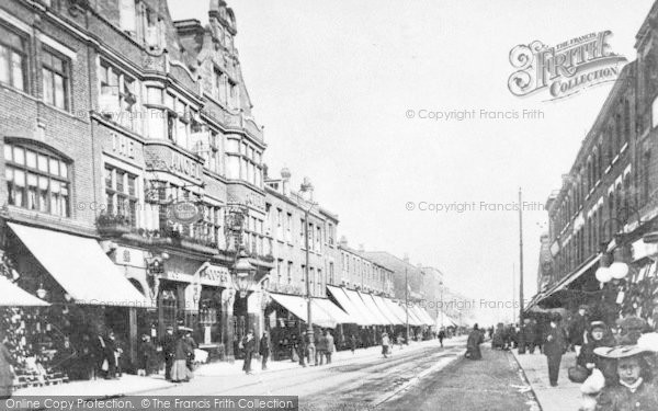 Photo of Ilford, High Road c.1910