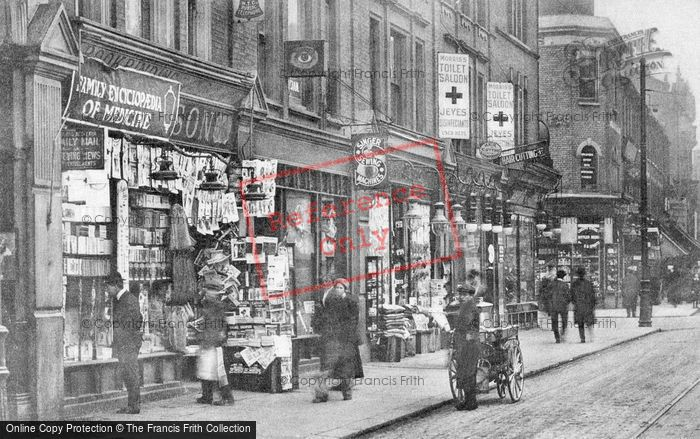 Photo of Ilford, High Road c.1913