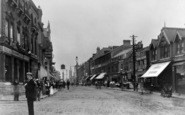 Ilford, High Road From The Broadway 1903
