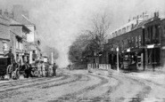 Ilford, High Road From The Broadway c.1860