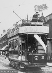 Ilford, High Road, Tram 1905