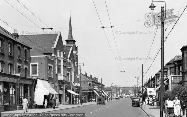 Photo of Ilford, Ilford Lane 1948