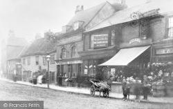 Ilford, Ilford Lane, Near The Broadway 1890