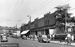 Ilford, Ilford Lane, The Market 1948