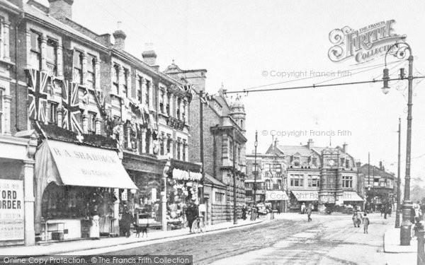 Photo of Ilford, Ilford Lane, Towards Broadway 1908