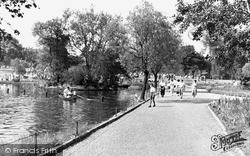 Ilford, Lake Side, Valentine's Park 1949