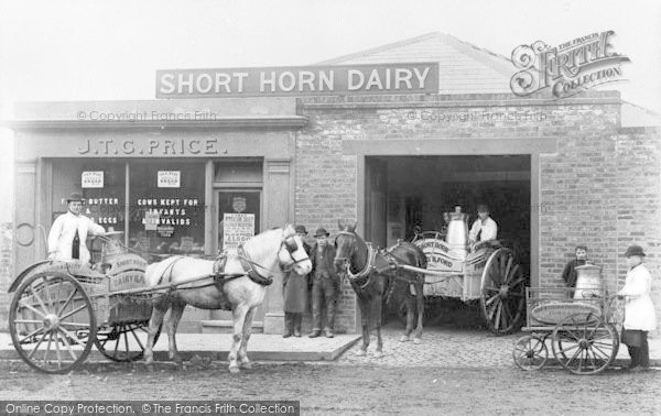Photo of Ilford, Short Horn Dairy 1887