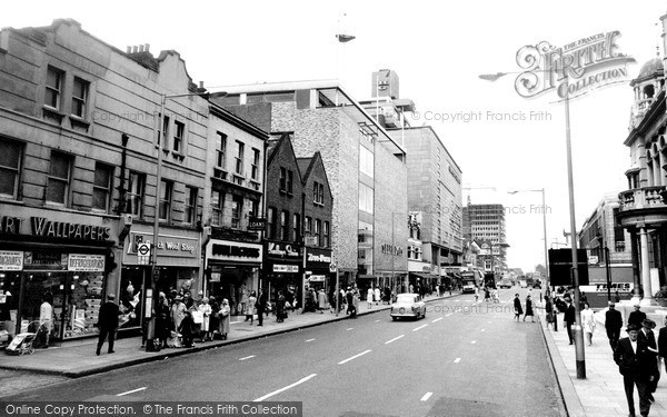 Photo of Ilford, The High Road 1966