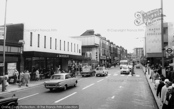 Photo of Ilford, The High Road c.1965