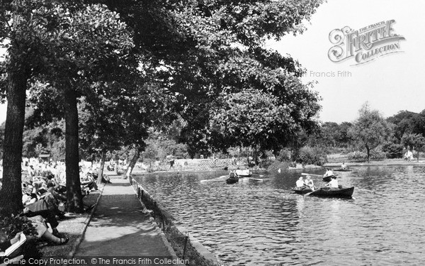Photo of Ilford, The Lake c.1950