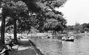 Ilford, The Lake c.1950