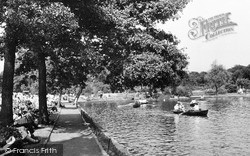 Ilford, The Lake c.1950