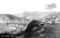 Ilfracombe, Capstone Hill From The West c.1868