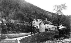 Ilfracombe, Cottages At Lee Point c.1869