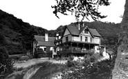 Ilfracombe, Hunters Inn c1950
