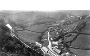 Ilfracombe, Slade Valley from Cairn 1911