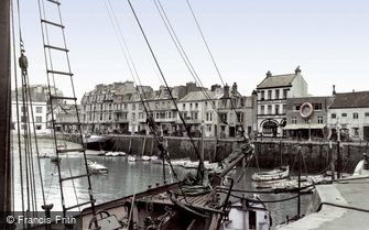 Ilfracombe, the Harbour c1955