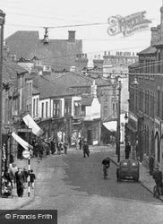 Bath Street c.1950, Ilkeston