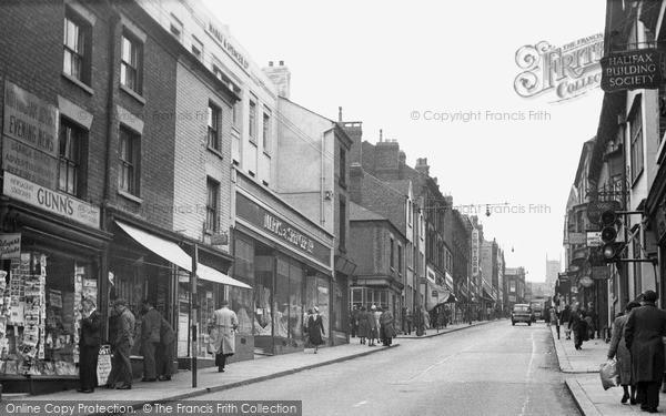 Photo of Ilkeston, Bath Street c.1955