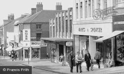 Bath Street c.1965, Ilkeston