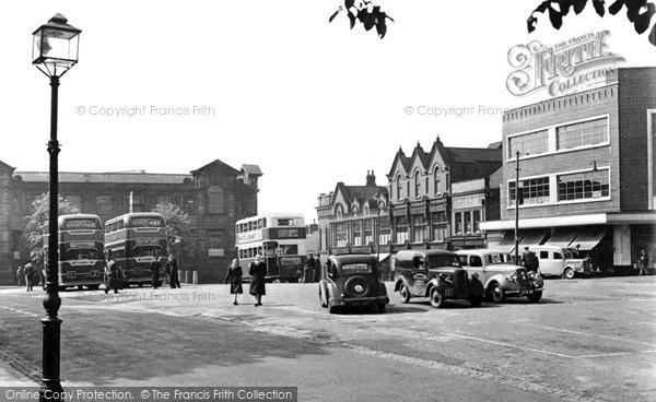 Photo of Ilkeston, Market Place c.1950