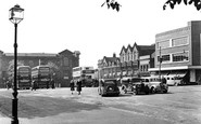 Ilkeston, Market Place c1950