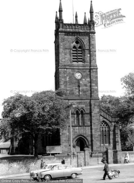 Photo of Ilkeston, Parish Church Of St Mary The Virgin c.1965