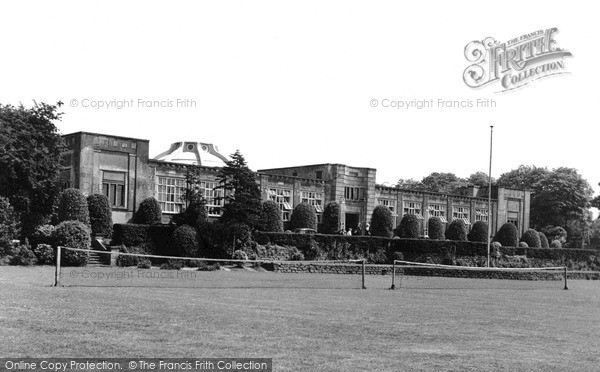 Ilkeston, the Grammar School c1955