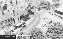 Ilkeston, View From The Church Tower c.1965