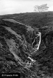 Ilkley, Backstone Beck Waterfall 1923