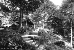 Ilkley, Heber's Ghyll, Chalybeate Spring 1921