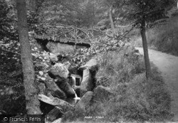 Ilkley, Hebers Ghyll 1893