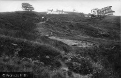 Ilkley, Moors And White Wells 1914