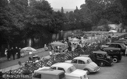 Ilkley, River And Tea Gardens From Riverside Café c.1965