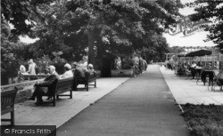 Ilkley, Riverside Cafe And Tea Gardens c.1960