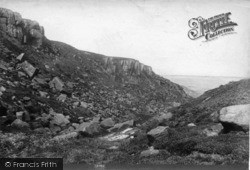 Ilkley, Rocky Valley 1906