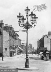 Ilkley, Street Lamp, Leeds Road 1906