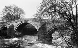 Ilkley, The Old Bridge 1900