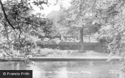 Ilkley, The Riverside Tea Gardens c.1960