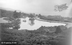 Ilkley, The Tarn c.1910