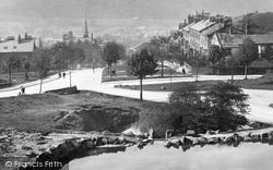 Ilkley, West View 1900