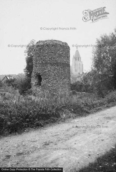 Photo of Illiers Combray, Castle And Church 1964