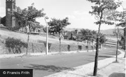 Illingworth, Raw Lane And Church c.1960