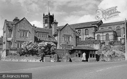 Illingworth, Talbot Inn And All Saints Church c.1960