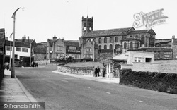 Illingworth, Talbot Inn, Keighley Road And The Church c.1960