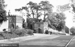 Ilminster, Entrance To Dillington Park c.1955